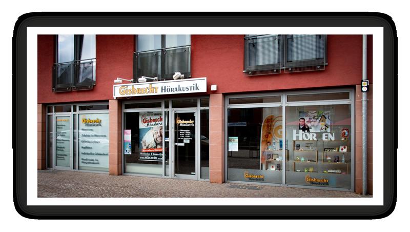 Gisbrecht Hörakustik Filiale Heusweiler